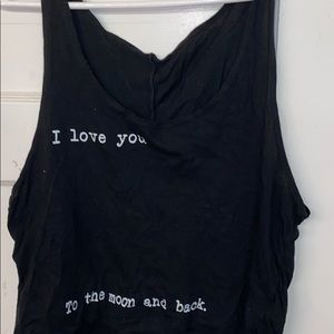 To the moon and back tank (Brandy Melville)